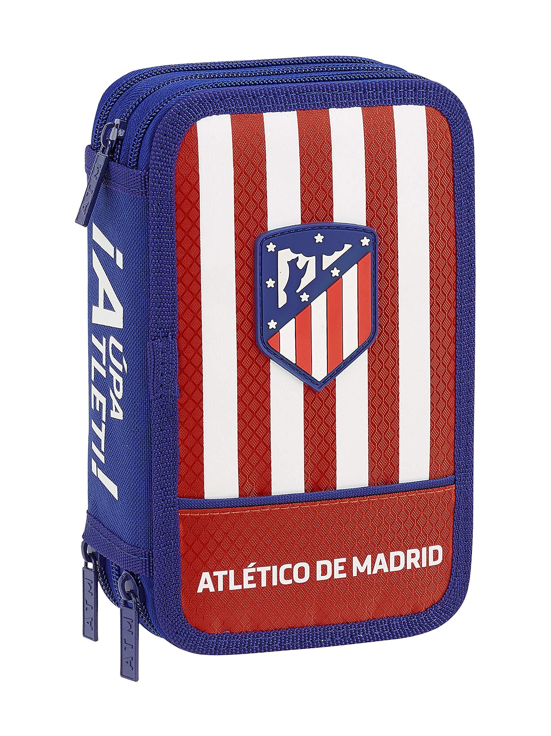 Atletico De Madrid 411845857 2018 Estuches, 20 cm, Rojo