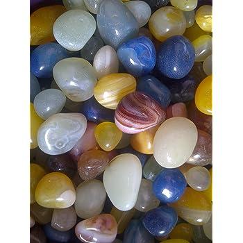 Jaanvi Granites Onyx Pebbles(1kg)