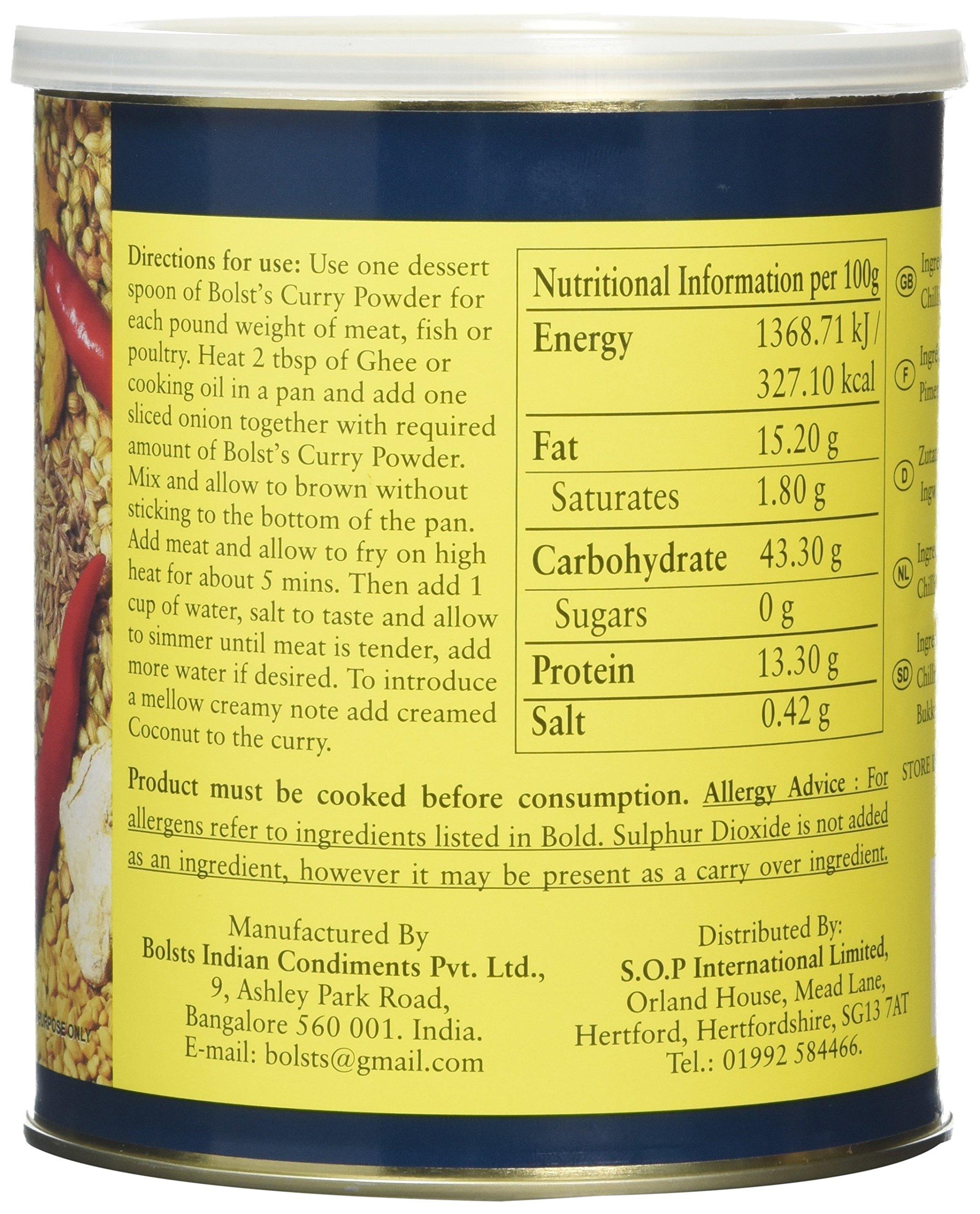 Bolst's Curry Powder Mild 425 g 4