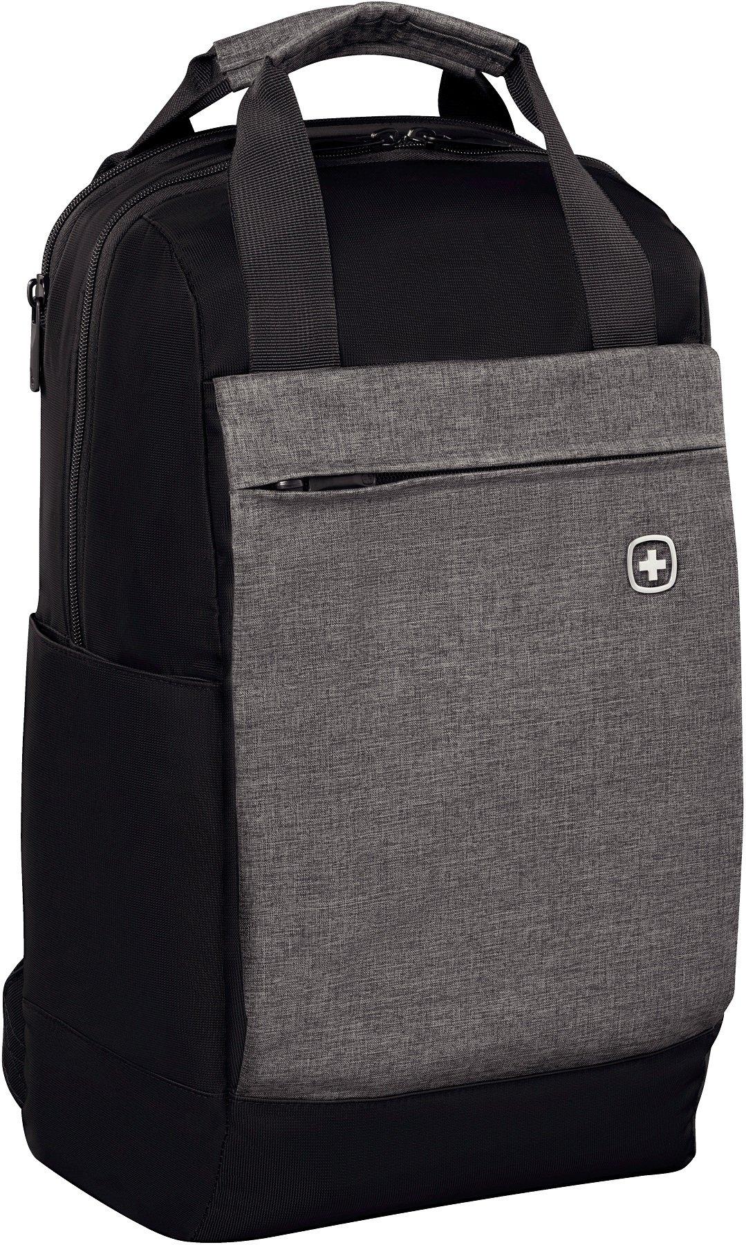 91BW0CLdITL - Wenger 601082 Bahn 35,56 cm Tablet Mochila con Bolsillo para Ordenador portátil - Negro
