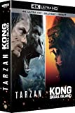 Kong : Skull Island + Tarzan - Coffret 4k Ultra HD [4K Ultra HD + Blu-ray + Digital HD]