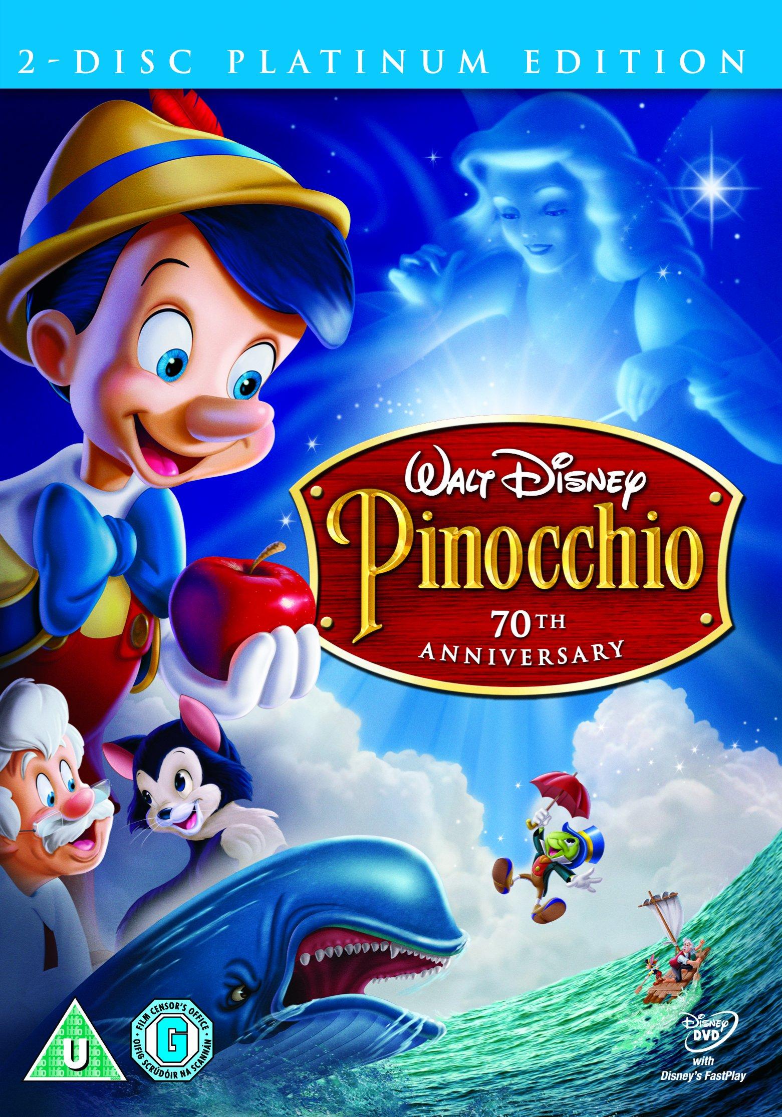 Pinocchio SE 2 Disc DVD Retail [Edizione: Regno Unito]