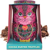 Monty Bojangles Cocoa Dusted Chocolate Truffles Persian Pink Cat Gift Tin 135g