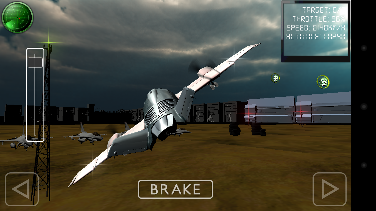 Flugzeug Simolator