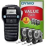 Dymo LabelManager 160 Label Maker Starter Kit | Handheld Label Maker Machine | met 3 rollen Dymo D1 Label Tape | QWERTY Keybo