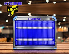 Hygiene 30W Ultra UV Tube Insect Killer Machine, Bug Catcher, Bug-Zapper, Repellent, Fly Swatter