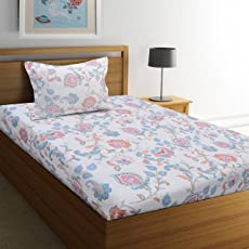 Ahmedabad Cotton Aspire Fine Cotton with Sateen Weave Bedsheet