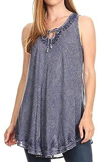 Ideale per Look sovrapposto vestibilit/à Oversize Look Casual Re Tech UK Canotta da Donna