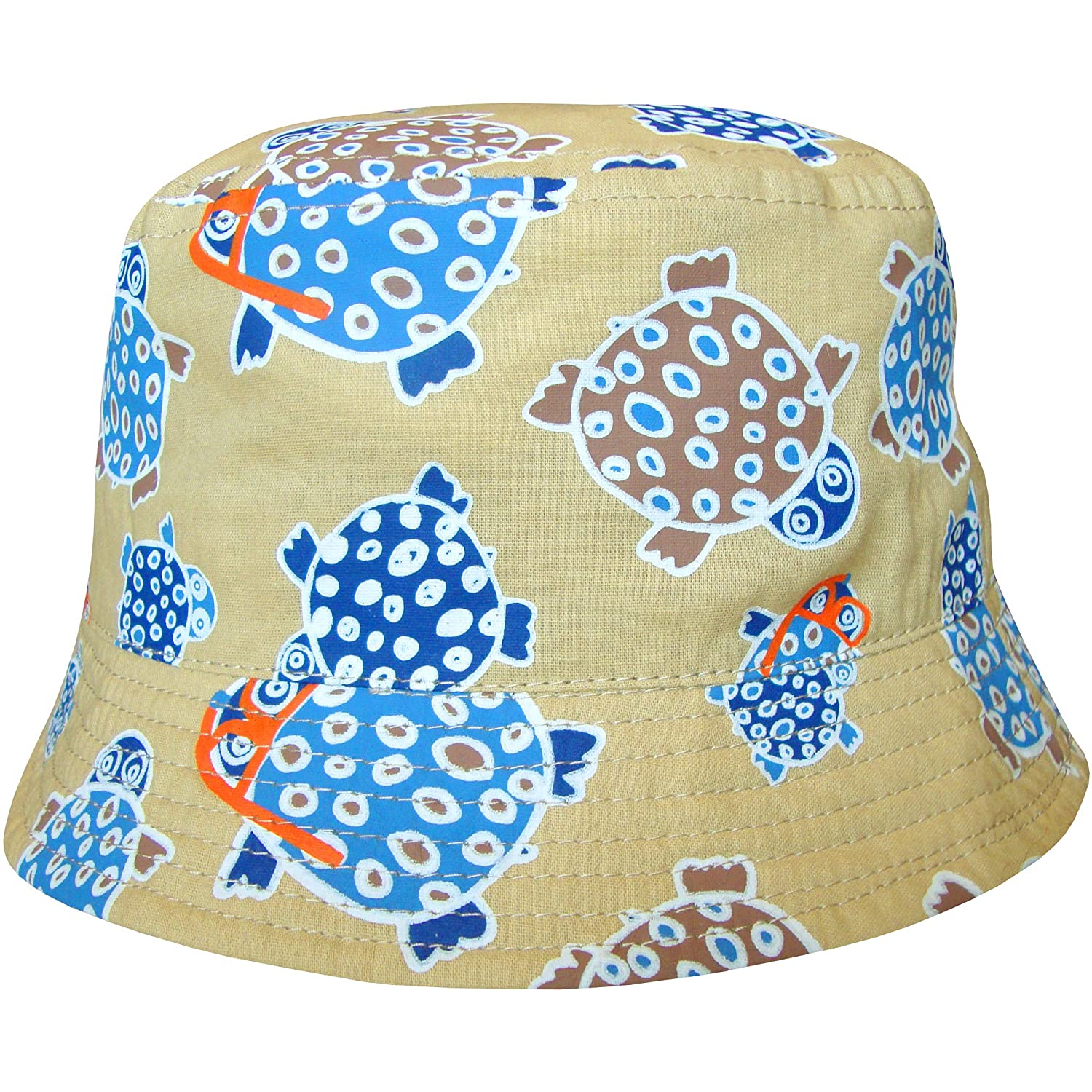 f6a2a7eafca Baby Boy s Turtles Design Holiday Bucket Style Summer Sun Beach Hat   Amazon.co.uk  Clothing