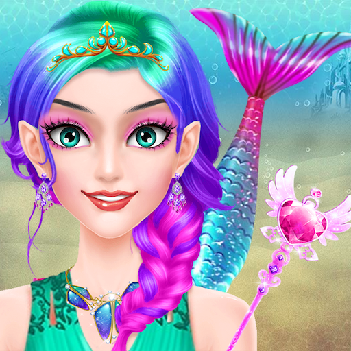 Mermaid Doll Makeup Salon - Girls Fashion Beauty