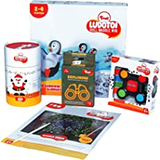 Toiing Mega Pack with Activities & Games for Kids, 3-8 Years (Multicolour) - Set of 5