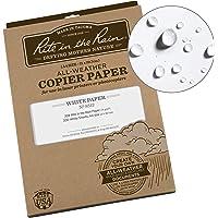 Rite In The Rain – Lot de 200 feuilles de papier étanche A3 pour copieuse et imprimante laser, blanc