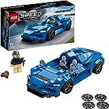 LEGO 76902 Speed Champions McLaren Elva Raceauto Bouwset, Constructie Speelgoed, Auto set Voor Kinderen 7 Jaar Oud