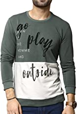 Zeyo Men's Cotton Printed T-Shirt