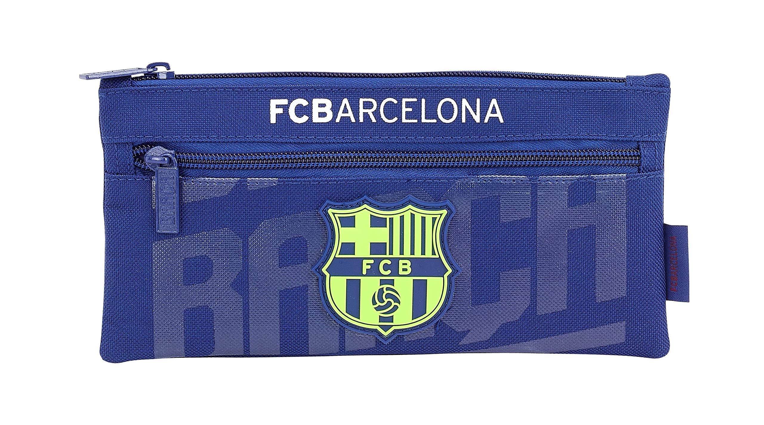 FC Barcelona 811826029 2018 Estuches 22 cm, Azul