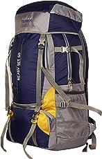 NOVICZ Travel Backpack for Outdoor Sports Camp Hiking Trekking Bag Camping Rucksack (Black, SHK002)