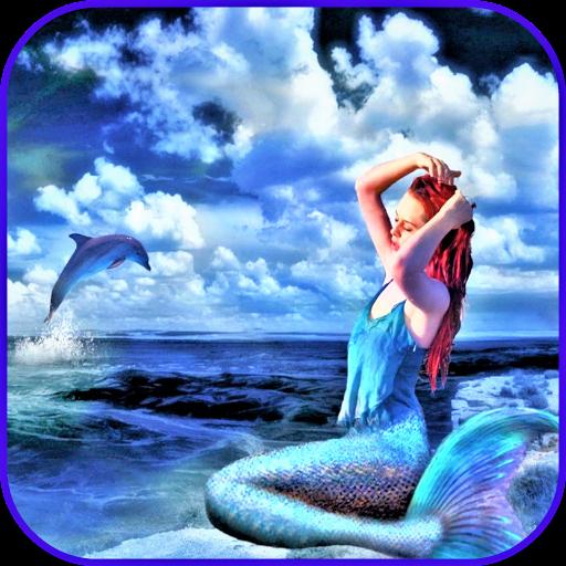 Meerjungfrau Tapete