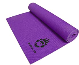 Burnlab Anti-Skid Yoga and Exercise Mat (6mm)