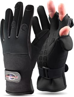 Angeln Thermo Gloves Anglerhandschuhe FLADEN Neopren-Handschuh Handschuh