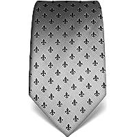 Vincenzo Boretti cravatta elegante classica da uomo, 8 cm x 15 cm, di pura seta di alta qualità, idrorepellente e…