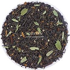 Jass Tea Green Masala Chai 100 Gms (Green Tea Blend of Pure Darjeeling Tea with India's Spices i.e Green Cardamom, Long Cloves, Black Pepper & Sweet Cinnamon)