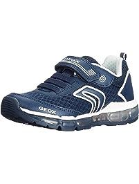 Geox J Sveth C, Zapatillas para Niños, Azul (Royal/Navy), 34 EU