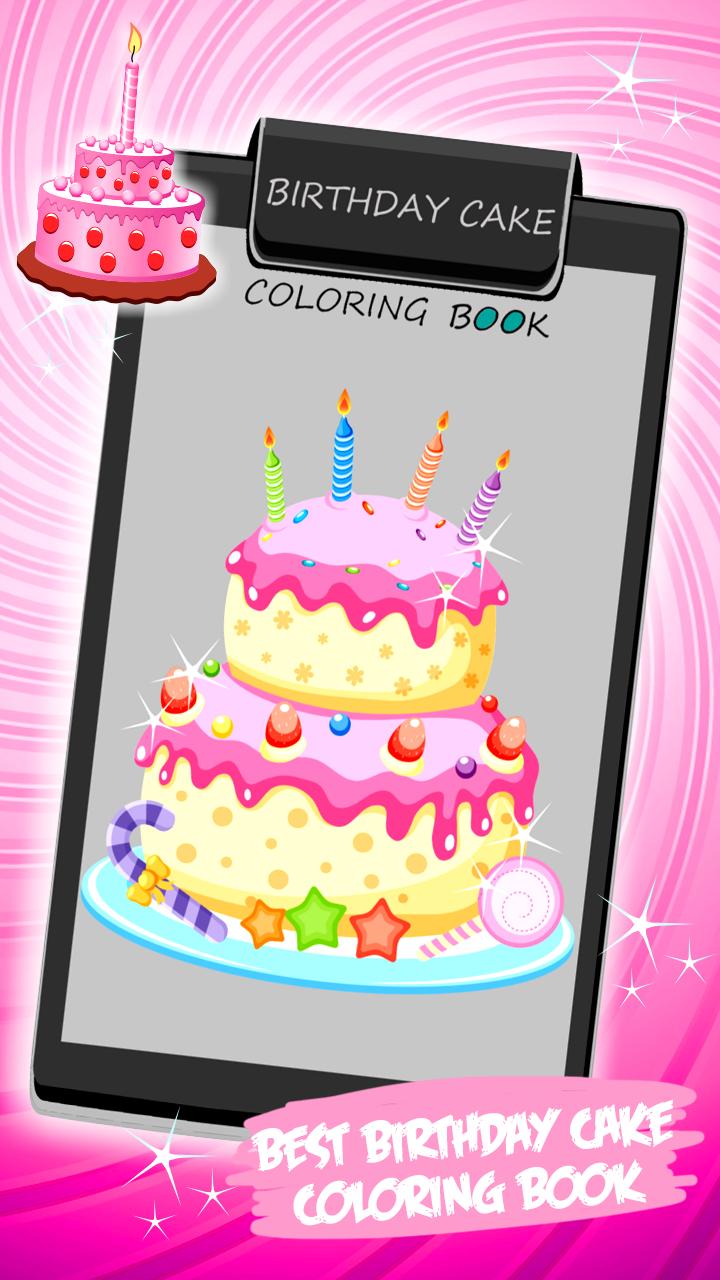 Gemütlich Geburtstagskuchen Farbung Seite Fotos - Framing ...