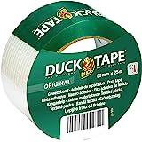 DUCK TAPE 106-07 Originele textieltape, zelfklevend plakband met waterdicht oppervlak, extra sterk, voor binnen en buiten, 50