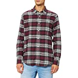 find. Men's Shirt Brushed Flannel Check Long Sleeve