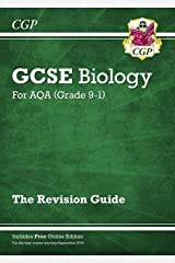Grade 9-1 GCSE Biology: AQA Revision Guide with Online Edition - Higher (CGP GCSE Biology 9-1 Revision) Paperback