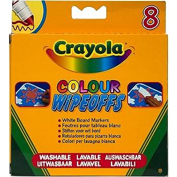 Crayola - Loisir Créatif - 8 Feutres pour Tableau Blanc - Modèle aléatoire