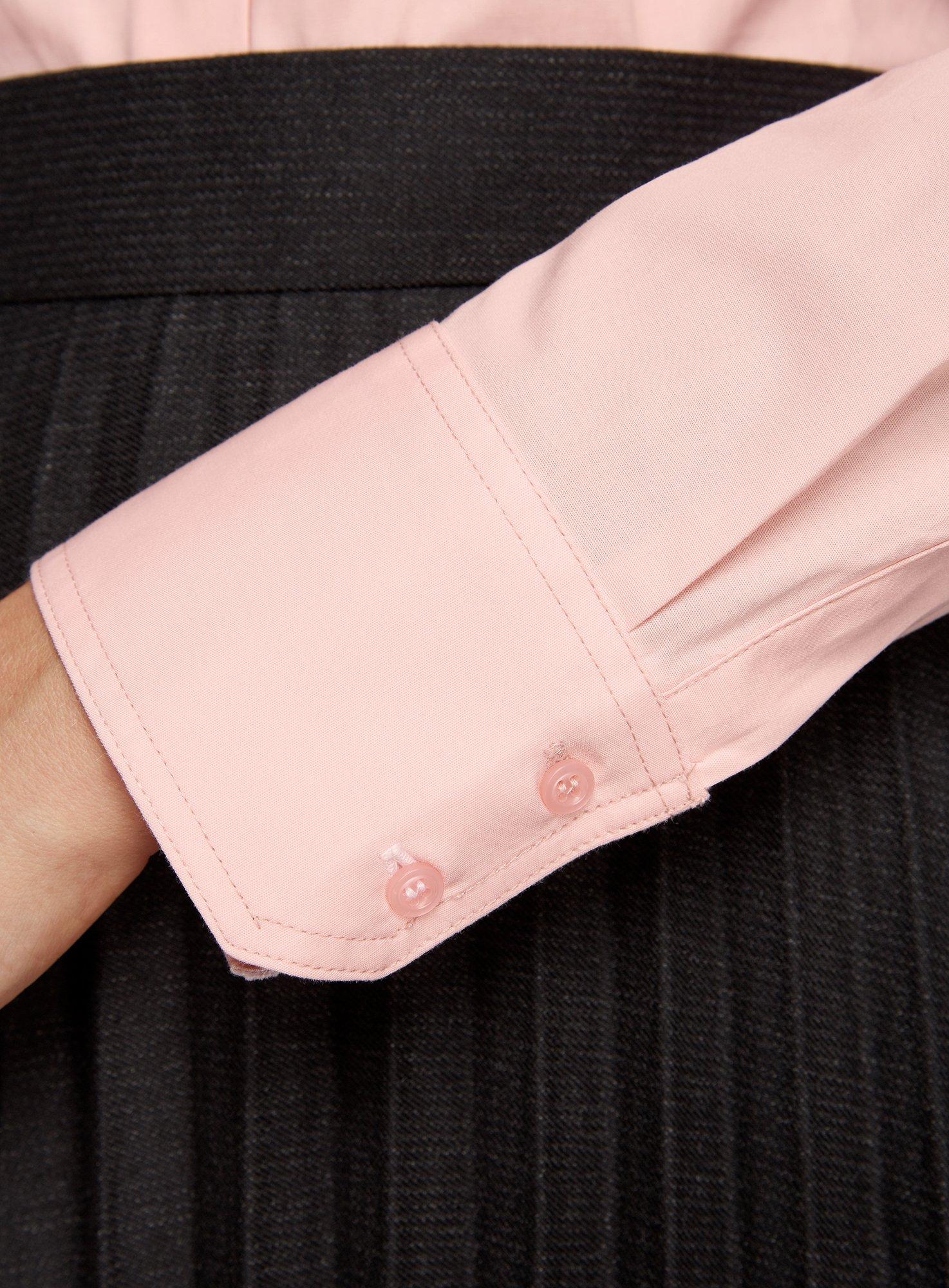 oodji Ultra Mujer Camisa Básica de Algodón
