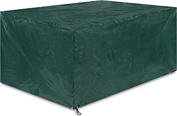 Springreen Abdeckung Gartenmöbel Universalabdeckung zum Schutz von Gartenmöbel [250 x 210 x 100 cm] | Wasserabweisend und UV schützend