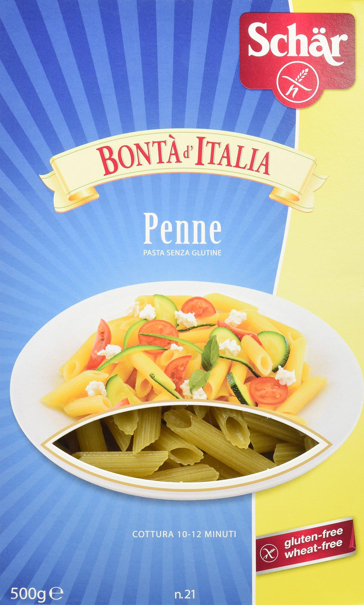 Dr. Schar Penne Pasta - 500 gr - [Pack de 6]