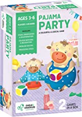 Chalk and Chuckles  Pajama Party, Multi Color