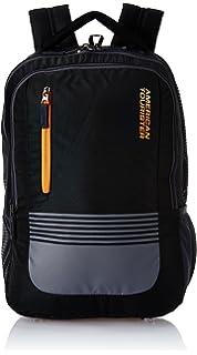 American Tourister 21 Ltrs Black Laptop Backpack  AMT AERO LAPTOP BKPK 01  BLACK