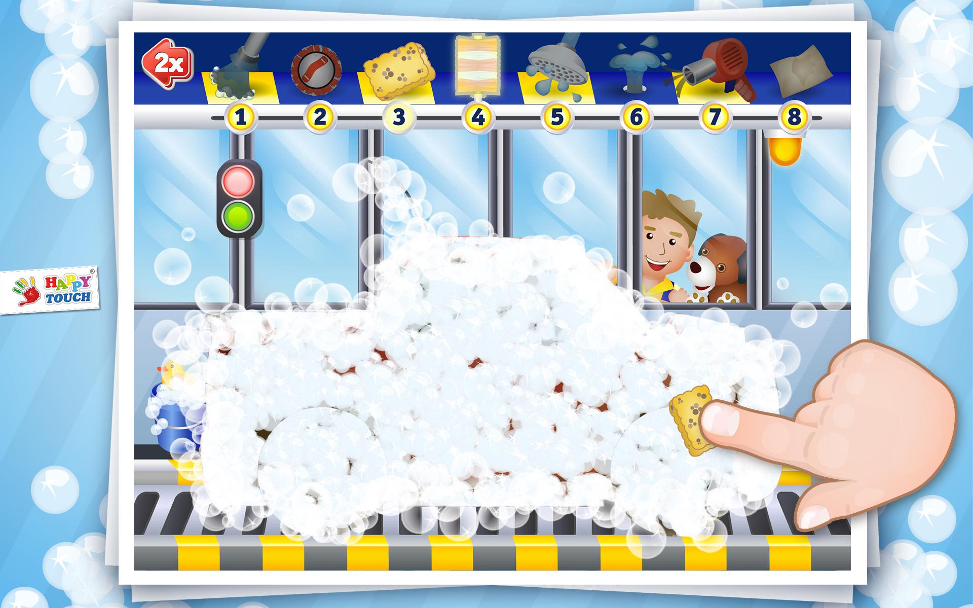 Kinderspiele Auto Waschen