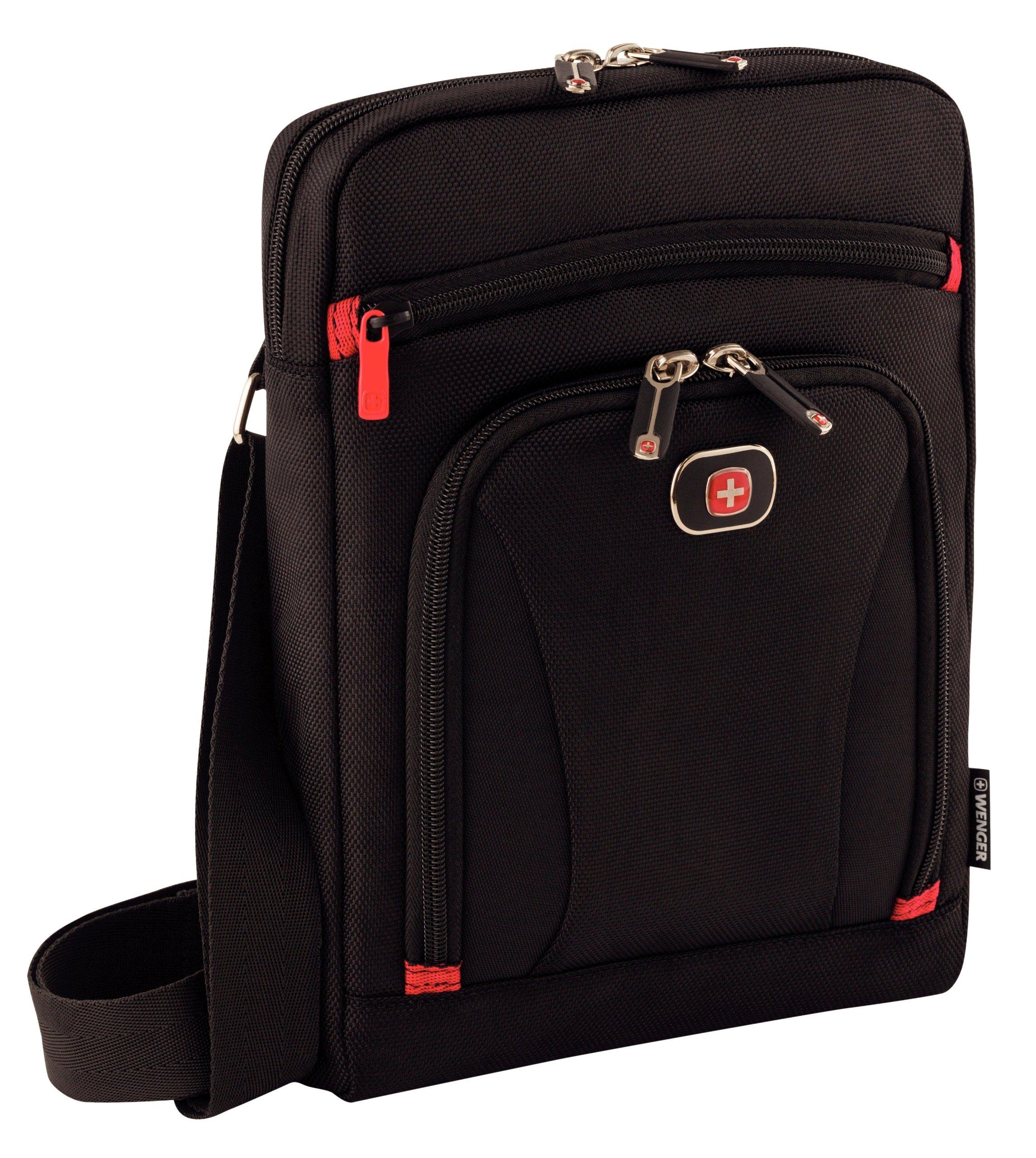 91C0ieUekTL - Wenger Swissgear Status - Maletín para Tablet iPad Air, Negro