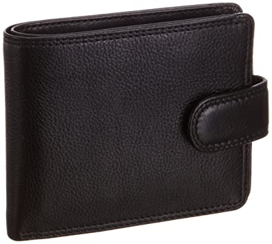 Mens Soft Leather Wallet Cards Notes ID Visconti New in Gift Box HT9