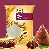JIWA healthy by nature Organic Ragi Flour, 1 Kg