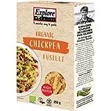 EXPLORE CUISINE Organic Chickpea Fusilli Pasta, Delicious, Plant-based Vegan Pasta, High in Protein, High in Fibre…