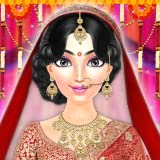 Royal Indian Wedding Girl Arrange Marriage Rituals - Indian Celebrity Wedding Salon - Indian Arranged Marriage Game