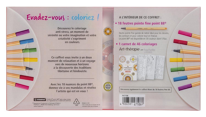 Livre Coloriage Anti Stress Pour Adulte Vendue Avec Feutre ... - photo#44