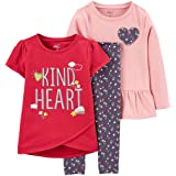 Simple Joys by Carter's - 3-Piece Playwear Set, Pants-Clothing-Sets Bimba 0-24