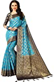 Darshita International Women's Kanjivaram Silk Saree (Mixkanji_Multicolored)