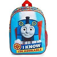 Thomas & Friends School Bag, Toddler Backpack with Thomas The Tank Engine Print, Kids Backpack for Preschool Nursery…