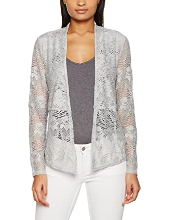 Cream & Co. Women's Lianna Lace Cardigan: Amazon.co.uk: Clothing
