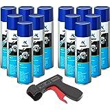 Nettoyant de Freins Multicleaner MC-1 Purificateur Intense transparent Spray 12x 500ml + 1x poignée originale pour bombes aér