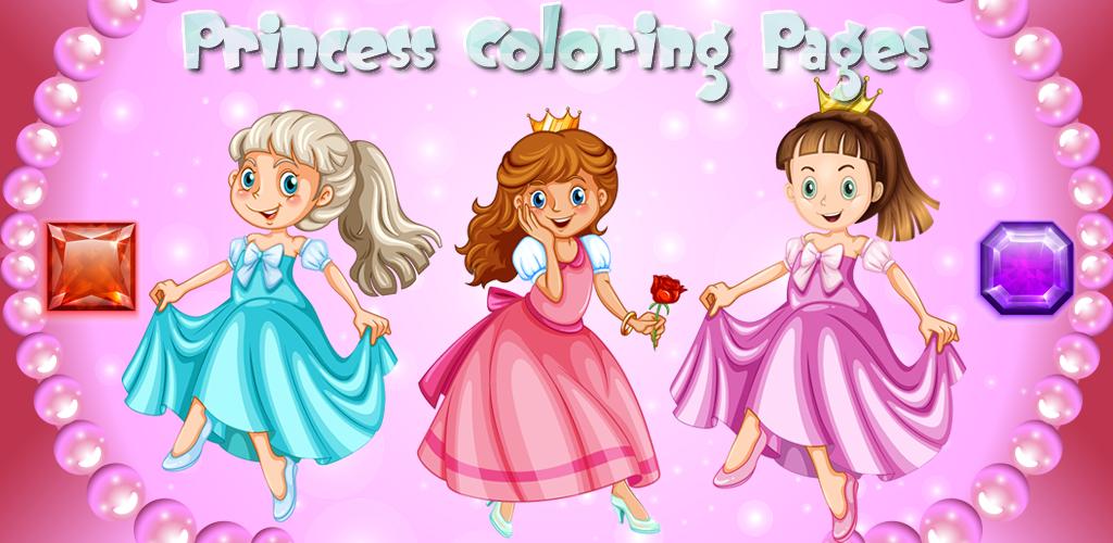 Prinzessin Malvorlagen – Spiele für Mädchen : Prinzessinnen ...