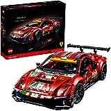 """LEGO Technic Ferrari 488 GTE """"AF Corse #51"""", Modello da Collezione Esclusivo di Macchine Supersportive per Adulti, 42125"""